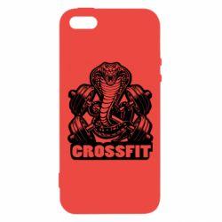 Чохол для iphone 5/5S/SE Кобра CrossFit
