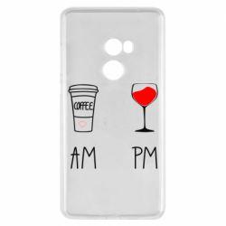 Чохол для Xiaomi Mi Mix 2 Кофе и бокал с вином