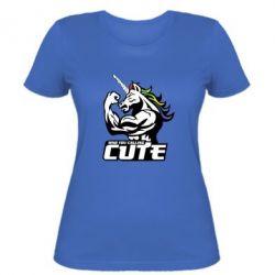 Жіноча футболка Кого ти назвав милим