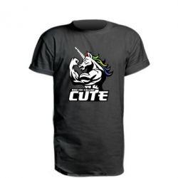 Подовжена футболка Кого ти назвав милим