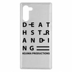 Чохол для Samsung Note 10 Kojima Produ