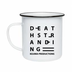 Кружка емальована Kojima Produ