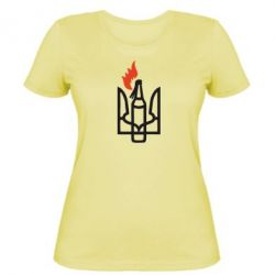 Женская футболка Коктейль Молотова