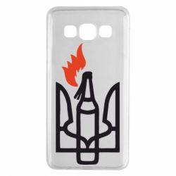 Чехол для Samsung A3 2015 Коктейль Молотова