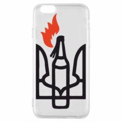 Чехол для iPhone 6/6S Коктейль Молотова