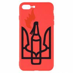Чехол для iPhone 8 Plus Коктейль Молотова