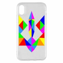 Чехол для iPhone X/Xs Кольоровий герб