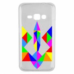 Чехол для Samsung J1 2016 Кольоровий герб