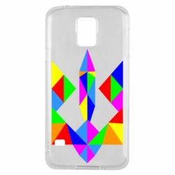 Чехол для Samsung S5 Кольоровий герб