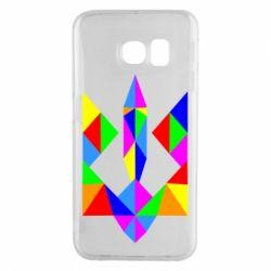 Чехол для Samsung S6 EDGE Кольоровий герб