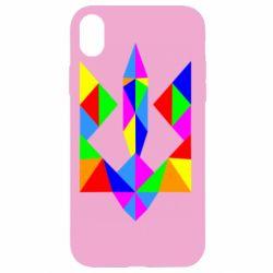 Чехол для iPhone XR Кольоровий герб