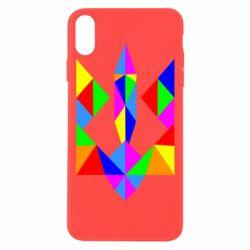 Чехол для iPhone Xs Max Кольоровий герб