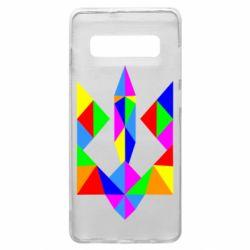 Чехол для Samsung S10+ Кольоровий герб