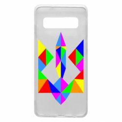 Чехол для Samsung S10 Кольоровий герб