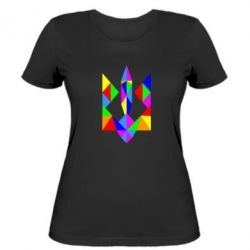 Женская футболка Кольоровий герб