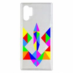 Чехол для Samsung Note 10 Plus Кольоровий герб