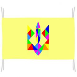 Флаг Кольоровий герб