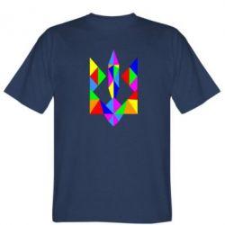 Мужская футболка Кольоровий герб - FatLine