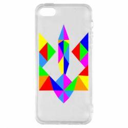 Чехол для iPhone5/5S/SE Кольоровий герб
