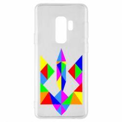 Чехол для Samsung S9+ Кольоровий герб