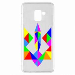 Чехол для Samsung A8+ 2018 Кольоровий герб