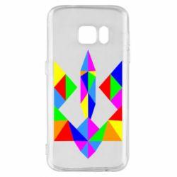 Чехол для Samsung S7 Кольоровий герб