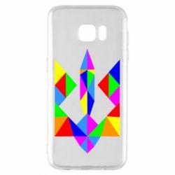 Чехол для Samsung S7 EDGE Кольоровий герб