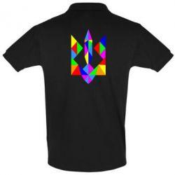 Мужская футболка поло Кольоровий герб
