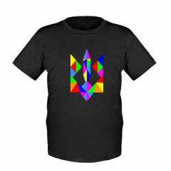 Детская футболка Кольоровий герб