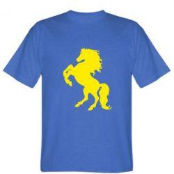 Мужская футболка Конь - FatLine