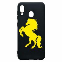 Чохол для Samsung A20 Кінь