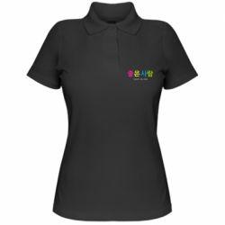 Жіноча футболка поло Конч за 500