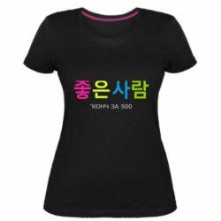 Жіноча стрейчева футболка Конч за 500