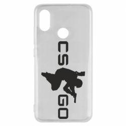 Чехол для Xiaomi Mi8 Контр Страйк, логотип и игрок
