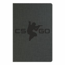 Блокнот А5 Контр Страйк, логотип и игрок