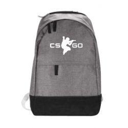 Городской рюкзак Контр Страйк, логотип и игрок