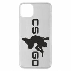Чехол для iPhone 11 Pro Max Контр Страйк, логотип и игрок