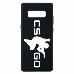 Чехол для Samsung Note 8 Контр Страйк, логотип и игрок