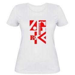 Женская футболка Контрформа