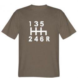 Мужская футболка Коробка передач - FatLine