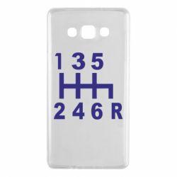 Чехол для Samsung A7 2015 Коробка передач - FatLine