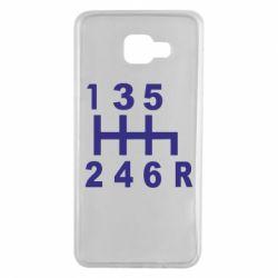 Чехол для Samsung A7 2016 Коробка передач - FatLine