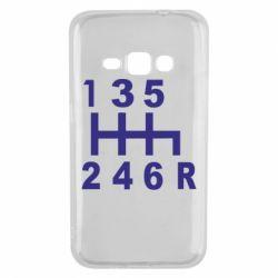 Чехол для Samsung J1 2016 Коробка передач - FatLine