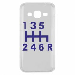 Чехол для Samsung J2 2015 Коробка передач - FatLine