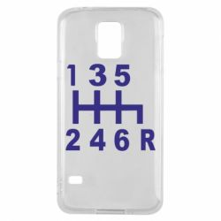 Чехол для Samsung S5 Коробка передач - FatLine