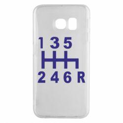 Чехол для Samsung S6 EDGE Коробка передач - FatLine