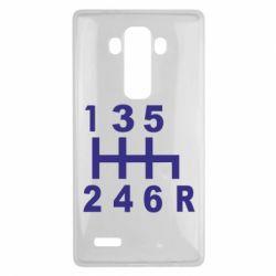 Чехол для LG G4 Коробка передач - FatLine