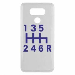Чехол для LG G6 Коробка передач - FatLine