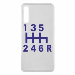 Чехол для Samsung A7 2018 Коробка передач - FatLine