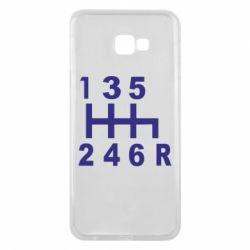 Чехол для Samsung J4 Plus 2018 Коробка передач - FatLine
